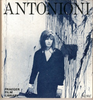 Antonioni Vitti Book cover